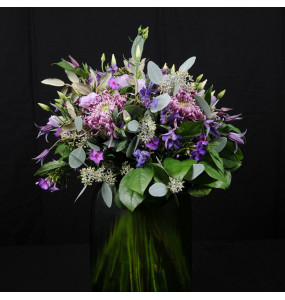 Bouquet blue/lilac